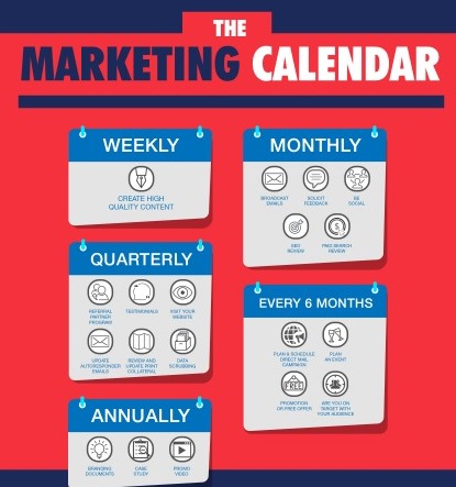 Why You Need a Marketing Calendar and How to Create One