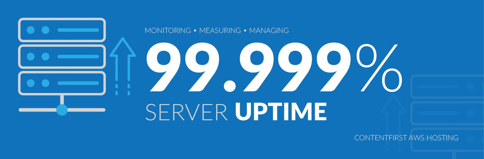 server uptime premium hosting | contentfirst.marketing